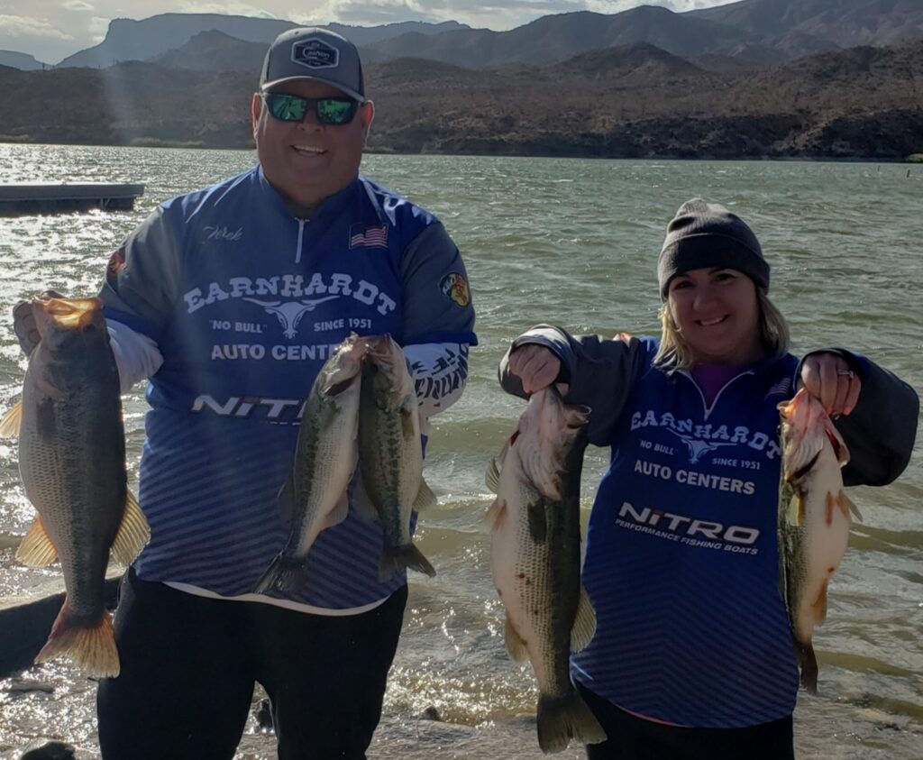 1st Place and Big Fish Apache Lake